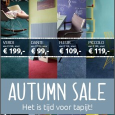 Autumn Sale tapijten